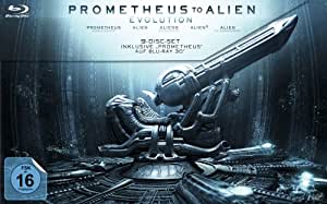 Prometheus to Alien: Evolution (Limited Edition + Blu-ray 3D) (exklusiv bei Amazon.de) [9 Blu-rays] [Blu-ray]