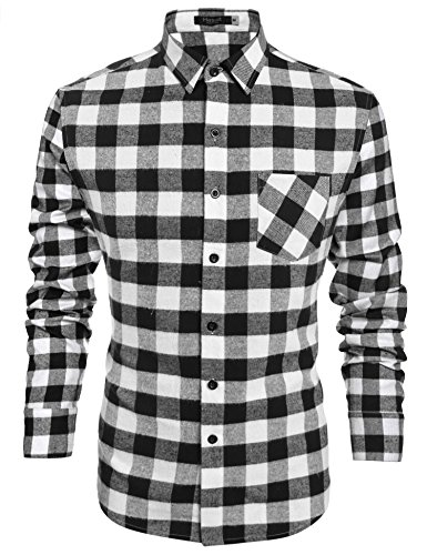 hasuit-heavy-weight-plaid-flannel-shirt-mens-casual-button-down-shirt