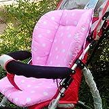 Tragbare Baby Buggy Polka Dot Gedruckt bequemer Sitz Kissen Pads