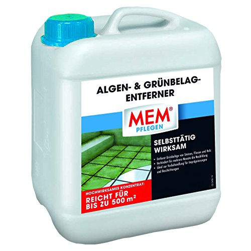 MEM Algen- & Grünbelag-Entferner, 2 x 5 Liter