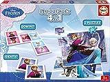 Juegos educativos Educa - Disney superpack 4 en 1, juego de mesa con...
