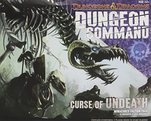 Dungeon Command: Curse of Undeath: A Dungeons & Dragons Expansion Pack (Dungeons and Dragons) por Wizards RPG Team