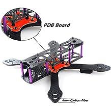DroneAcc Quadcopter Carbon Fiber Frame Kit Marciano II RX220 FPV Racing de fibra de carbono marco como QAV210 etc (4MM)