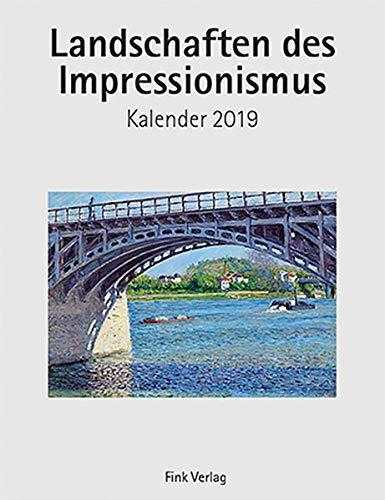 Landschaften des Impressionismus 2019: Kunst-Einsteckkalender