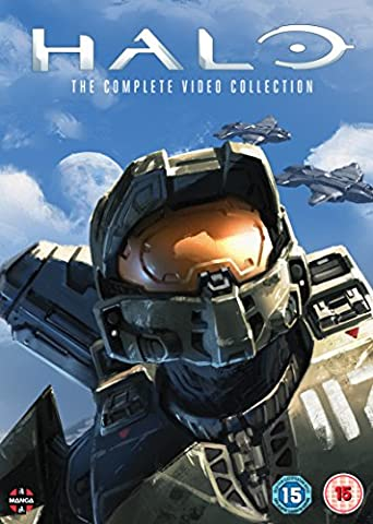 Halo: The Complete Video Collection [4 DVDs] [UK Import] (Collection 4 Dvd-set)