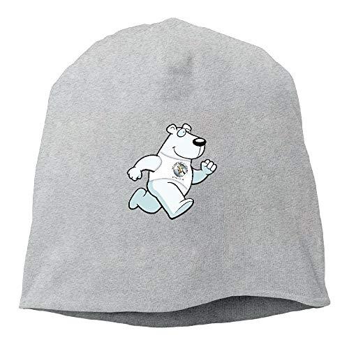 mfsore Männer und Frauen Laufen Eisbär Warm Stretchy Daily Beanie Hat Skull Cap Outdoor Winter eine Größe - Zutano Baumwolle Beanie