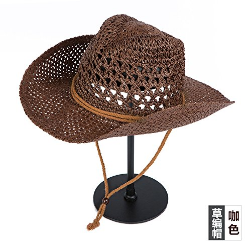 Zhangyong*cappelli e primavera e autunno sport all'aperto estate elegante cappello di paglia ombrellone cappuccio di protezione solare cappelli beach , i cappucci , codice sono caffè-colorato { } cappello di paglia