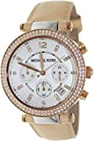 Michael Kors Mk5633 39mm Stainless Steel Case Beige Calfskin Mineral Women's Watch