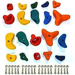 Piedras de escalada mix 20 piezas