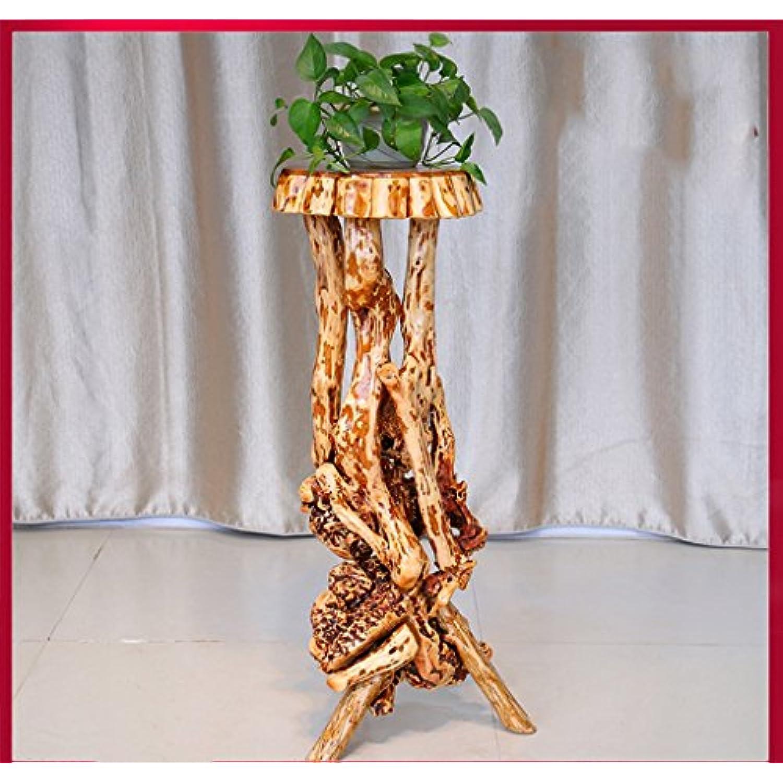 Etagère Etagère d exposition Racine de support de fleur de bois solide  Racine de plante 57e1fb1ccb2