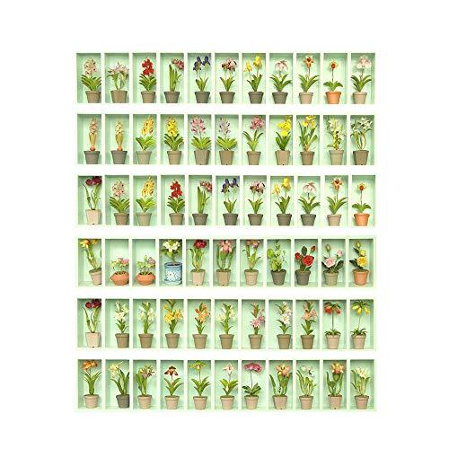 YUHUISTART Decorativo Fai da Te-DIY Steps Sticker Removable Stair Sticker Home Decor Ceramic Tiles Patterns