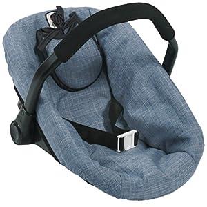 Bayer Chic 200070850Auto Asiento para bebé de muñecas, Jeans Azul