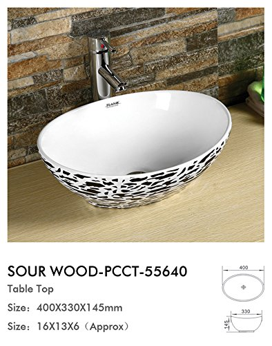 Plano Designer Sanitary ware Tabletop Wash Basin Sour Wood