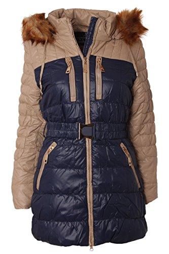 veste-dhiver-avec-faux-capuchon-de-fourrure-xl42-bleu