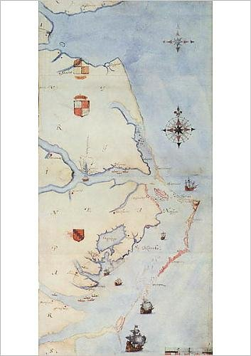 fine-art-print-of-map-of-raleigh-s-virginia-lithograph