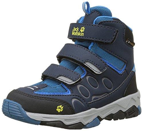 Jack Wolfskin Unisex-Kinder MTN ATTACK 2 TEXAPORE MID VC K Trekking- & Wanderhalbschuhe, Blau (glacier Blue 1121), 26 EU