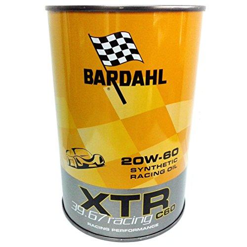 olio Bardahl XTR 39.67 Racing c60 20W-60 / 5 lit