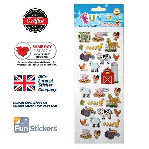 Fun Stickers Down On The Farm 717
