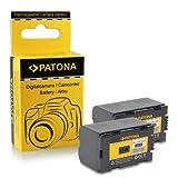2x Bateria CGR-D220 para Panasonic AG-DVC7   AG-DVC15   AG-DVX100   AG-DVX1000   NV-C2   NV-C3   NV-C5   NV-C7   NV-DA1   NV-DB1   NV-DS1   NV-DS3   NV-DS15   NV-DS20   NV-DS25   NV-DS30
