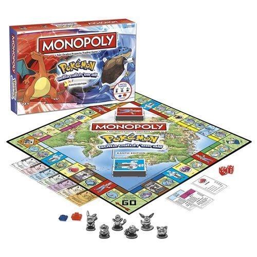 Pokemon Monopoly Board Game by BBCW