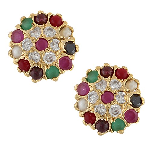 75 Off On Archi Collection Ethnic Gold Plated Earrings Studs For