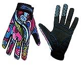 QEPAE® Atmungsaktiv Unisex Erwachsene Fahrradhandschuhe rutschfeste Half Finger und Full Finger...