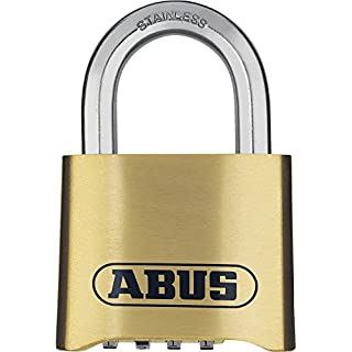 Abus  180IB/50  Combination Padlock Stainless Shackle