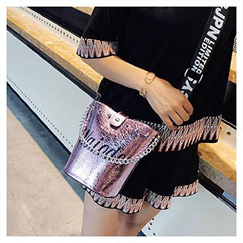 QUICKLYLY Bolso Mujer Bandolera Portatil Bolsa Mensajero Tote Shopper Callejero Bag Tirantes Carteras Mano Compras Mochilas Hombro Moda Popular Alta Calidad Impermeable Barato