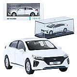 Pino B&D HYUNDAI IONIQ AE White 1:38 Display Mini Car Miniature Car