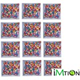 Imtion ( Pack Of Small 12 Package Approx 2000 Pcs + Free Glue 1 Bottle 50 Gram ) Multicolor Thermocol Balls For Party And Birthday Decorations Mix Colour Tharmacol Ball (pack Of 12 Small Pack Approx 2000 Pcs)