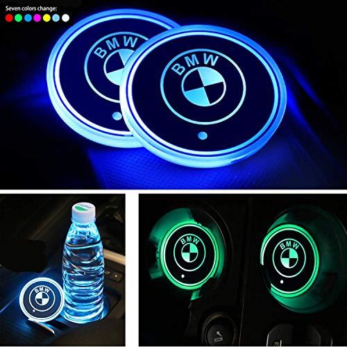 Interestingcar LED Auto Getränkehalter Lichter, LED Auto