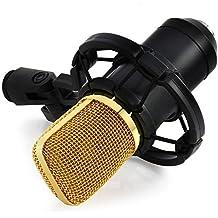 YooYoo BM–700Condensatore Audio Microfono di registrazione con Shock Mount, BLACK