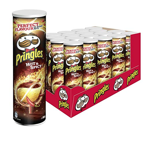 Pringles Hot & Spicy Chips, 19er Pack (19 x 200 g) (Pop Jalapeno Chips)