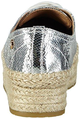 XTI Damen 30155 Sneakers Silber (Plata)