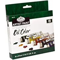 Royal & Langnickel OIL21-6 - Pack de 6 pinturas al óleo de 21ml