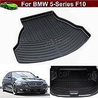 1pcs Pelle Nuovo Tappetino posteriore per bagagliaio auto Carico Antiscivolo vassoio bagagliaio antiscivolo, su misura per BMW Serie 5F1020102011201220132014201520162017 - Serie Oem Boot