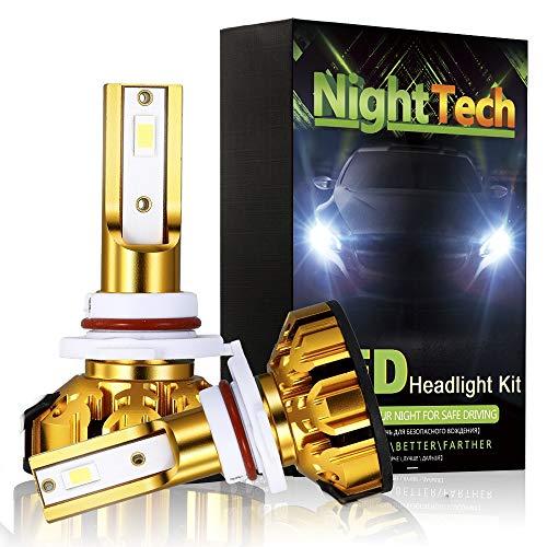 Scheinwerfer Modifikation Lampe Mini Auto Scheinwerfer, 5200LM Auto Motorrad Front Light Glühbirnen Off-Road 6500k Flutlicht oder Scheinwerfer Light Road High Beam IP59,9005/HB3/HB10