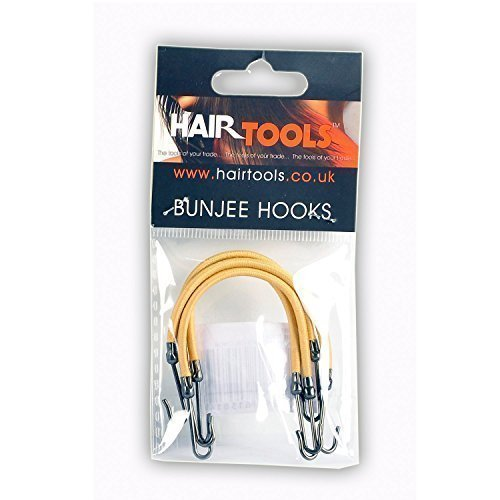 Hair Tools Blonde Bungee Haargummi Haken