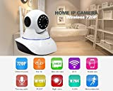 Royal Lite Wireless HD IP Wifi CCTV Indoor Security Camera Stream Live Video in Mobile or Laptop - White