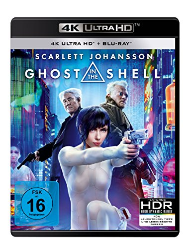 Bild von Ghost in the Shell  (4K Ultra HD) (+ Blu-ray)