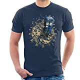 Cloud City 7 Doctor Who Watch The Time Men's T-Shirt