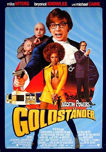 Austin Powers 3: Goldständer: A (2002) | original Filmplakat, Poster [Din A1, 59 x 84 cm]