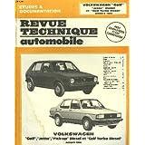 """Revue technique automobile volkswagen """"golf"""", """"jetta"""" diesel, """"pick-up"""" diesel et """"golf turbo diesel"""" jusqu'a 1984."""