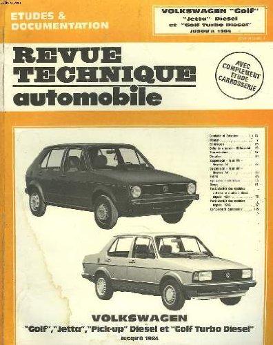 Revue technique automobile volkswagen