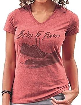 Mans Evolution Merchandise - Camiseta - Cuello redondo - para mujer
