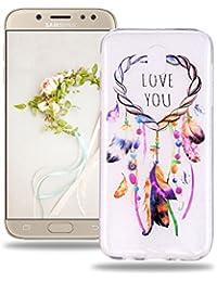 4c4a7350470af0 Baiwoda Coque Samsung Galaxy J7 2017 SM-J730F Protective Soft Silicone Case  Etui en Caoutchouc