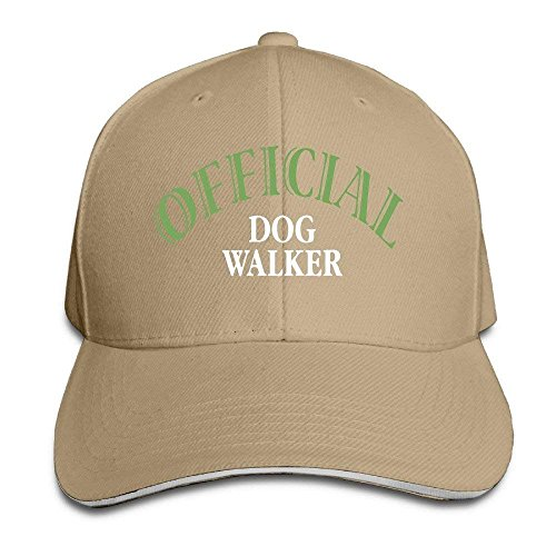 Zhgrong Caps Official Dog Walker Adjustable Baseball Bill Cap Black Kappen