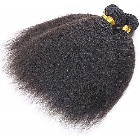 OOFAY JF® mongolo capelli vergini grossolano yaki