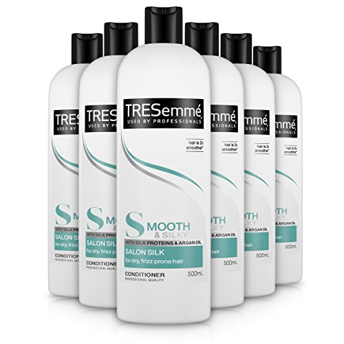 Tresemmé Salon lisse Soie Conditionneur 500 ml – Lot de 6