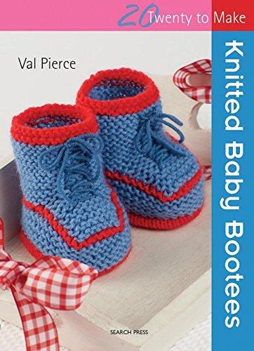 Suche Presse-Zwanzig, um Craft Buch Strick Baby Stiefelchen (Baby-strick-buch)